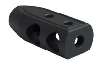 TIMBER CREEK Outdoors .223 Heart Breaker Parkerized Black Muzzle Brake (223 HB BL P)