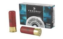 "FEDERAL PowerShok 12Gauge 2.75"" Max Dram 00 Buck 5 Round Box of 9 Pellets Buckshot (F12700)"