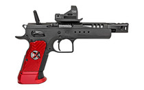 EEA Witness Domina Gold Team Extreme 9mm 5.25in Ported Barrel Full Race Steel 3x 17rd Mags Semi-Automatic Pistol (610690)