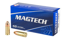 MAGTECH 9mm 115 Grain Full Metal Jacket 50rd Box of Pistol Ammunition (9A)