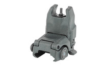 MAGPUL MBUS Back-Up Front Flip Up Sight Gen 2 Gray (MAG247-GRY)