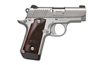 KIMBER .380 ACP MICRO 2.75in Barrel Stainless Steel Rosewwod Grips Night Sights Semi-Automatic Pistol (3300207)