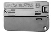 TRAILBLAZER LifeCard .22 LR Folding Single Shot Pistol 1 Round with 3 Round Ammo Storage Steel Barrel Bolt and Trigger Pistol (LC1-P)