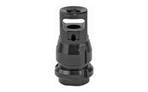DEAD AIR Key Mount 1/2x28 Threads .38 Bore Black Micro Muzzle Brake (DA109)