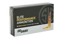 SIG SAUER Elite Match 300 WinMag 190Gr 20Rd Box of Open Tip Match Rifle Ammunition (E3WMM1-20)