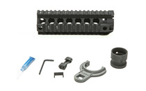 "BRAVO BCM Gunfighter 5.56 AR Rifle 7"" Picatinny Quad Rail Black (BCM-QRF-7-556-BLK)"