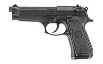 BERETTA 92FS 9mm 4.9'' Barrel 15Rd x2 Mags Semi-Automatic Full Size Pistol (J92F300M)