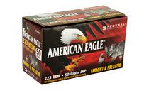 FEDERAL American Eagle Varmint & Predator 223REM 50Gr 50Rd Box JHP Rifle Ammunition (AE22350VP)