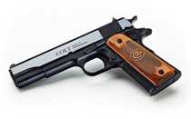 """COLT USA 1911 Classic 45ACP 5"""" National Match Barrel 7Rd Series 70 Semi-Automatic Pistol with Wood Grips (O1911C-USA)"""