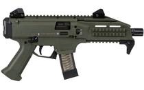 CZ Scorpion EVO 9mm 20 Rd Mag Green Cerakote Semi Auto Pistol