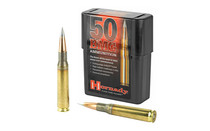 HORNADY Match 50BMG 750Gr 10Rd Box of AMAX Rifle Ammunition (8270)