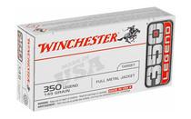 WINCHESTER 350 Legend 145Gr 20Rd Box of FMJ Rifle Ammunition (USA3501)