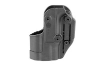 BLACKHAWK SERPA CQC Springfield XD Sub-Compact Concealment Holster with Belt and Paddle Attachment Black (410531BK-R)
