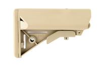 B5 SYSTEMS SOPMOD Mil-Spec FDE Stock with Quick Detach Mount (SOP-1075)
