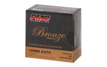 PMC Bronze 10mm 170Gr 25Rd Box of JHP Handgun Ammunition (10B)