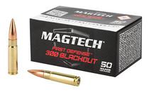 MAGTECH First Defense 300 BLK 123 Grain 50Rd Box of Full Metal Jacket Centerfire Rifle Ammunition (300BLKB)
