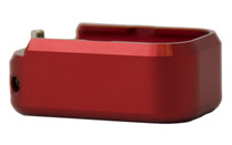 TARAN TACTICAL INNOVATION Glock 19/23 +2/+3 Red Magazine Extension Base Pad (GBP940C-03)