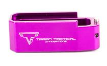 TARAN TACTICAL INNOVATION Firepower AR15 Gen 3 PMAG +5 Titanium Purple Magazine Extension Base Pad (PMBP-08)