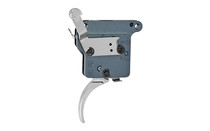 TIMNEY TRIGGERS The Hit Curved Nickel Finish Trigger For Remington 700 Adjustable from 8oz.-2Lbs (THE-HIT-16)