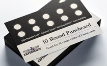 TGE 10x Range Rentals Punch Card