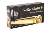 S&B 762x54R 180Gr 20Rd Box of FMJ Handgun Ammunition  (SB76254RA)