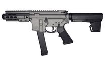 """BRIGADE 9mm 5.5"""" Barrel 5"""" Free-Float Hanguard 33Rd Semi-Automatic Tactical Pistol (A0915531)"""