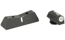 XS SIGHT DXW Standard Dot Tritium Glock 17/19/22 Night Sights (GL-0001S-4)