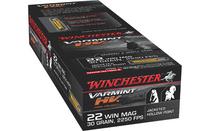 WINCHESTER Varmint HV .22WMR 30Gr 50Rd Box of JHP (S22M2)
