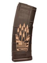 MAGPUL PMAG30 Freedom Fries Custom Engraved 30Rd .223/5.56 PMAG