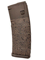 MAGPUL PMAG30 Topographic Map Custom Engraved 30Rd .223/5.56 PMAG