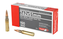 AGUILA 7.62x51 150Gr 20Rd Box of FMJ BT Rifle Ammunition (1E762110)