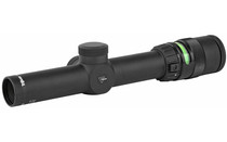 TRIJICON AccuPoint 1-4x24mm Illuminated Green Triangle Post Reticle 30mm Riflescope (TR24G)