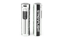 STREAMLIGHT 18650 USB Rechargeable  Li-ion 2600 mAh Battery 2 Pack (22102)