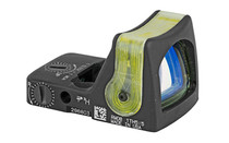 TRIJICON RMR Dual Illuminated 12.9 MOA Amber Triangle Reticle Red Dot Sight (RM08A)
