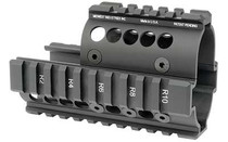 MIDWEST INDUSTRIES Forearm 4-Rail Handguard for Mini Draco Pistol (MI-AK-MD)