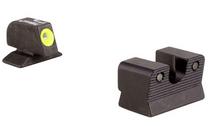 TRIJICON Beretta 92/96A1 HD Night Sight Set Yellow Front Outline Tritium Handgun Sights (600620)