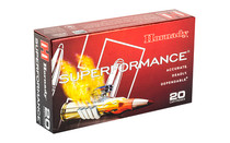 HORNADY Superformance 6.5 Creedmoor 120Gr 20Rd Box of GMX CA Certified Non-Lead Rifle Ammunition (81490)