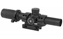 TRUGLO Tru-Brite 1-6x24mm Power Ring Duplex Mil-Dot Illuminated Reticle 30mm Tactical Riflescope (TG8516TL)