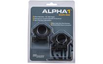 SIG SAUER Electro-Optics Alpha1 30mm Low Profile Scope Rings (SOA10011)