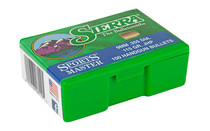 SIERRA BULLETS Sports Master 9mm 115 Grain 100Ct Box of Jacketed Hollow Point Bullets for Reloading (8110)