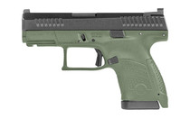 "CZ P-10S 9mm 3.5"" Barrel 12Rd OD Green Sub-Compact Semi-Automatic Pistol (91565)"