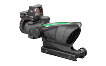 TRIJICON ACOG 4x32mm Dual Illuminated Green Chevron .223 Reticle 3.25 MOA RMR Type 2 Matte Black Finish Riflescope with TA51 Mount (TA31-D-100548)