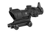 TRIJICON ACOG 4x32 M4A1 Amber Center Illumination Backup Iron Sights Riflescope with Dust Cover (TA01NSN)