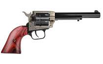 "HERITAGE Rough Rider .22LR 6.5"" Barrel 9Rd Alloy Frame Case Hardened Cocobolo Grips Single Action Revolver (RR22999CH6)"