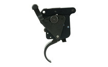 TIMNEY TRIGGERS Remington 700 1.5-4 lb Adjustable Pull Weight Steel/Aluminum Black Trigger with Safety (510)
