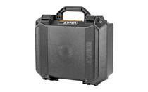 PELICAN V200 Vault Black 15.41x13.08x6.16 Medium Pistol Case With Foam (VCV200)