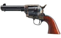 "CIMARRON Model P Single Action Army .45 Long Colt 4.75"" Barrel 6Rd Steel Frame Case Hardened Wood Grips Revolver (MP410)"