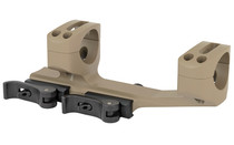 """WARNE 1"""", Fits AR Rifles, Extended Skeletonized Quick Detach Cantilever Mount  (QDSKEL1DE)"""