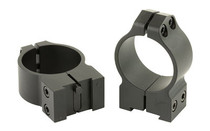 WARNE Fits Tikka Grooved Receiver, 30mm Medium, Permanent Attached Fixed Rings (14TM)