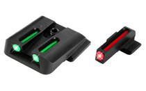 TRUGLO Brite-Site Fiber Optic 3 Dot Sights for Smith & Wesson M&P 380 EZ (TG131MP1)